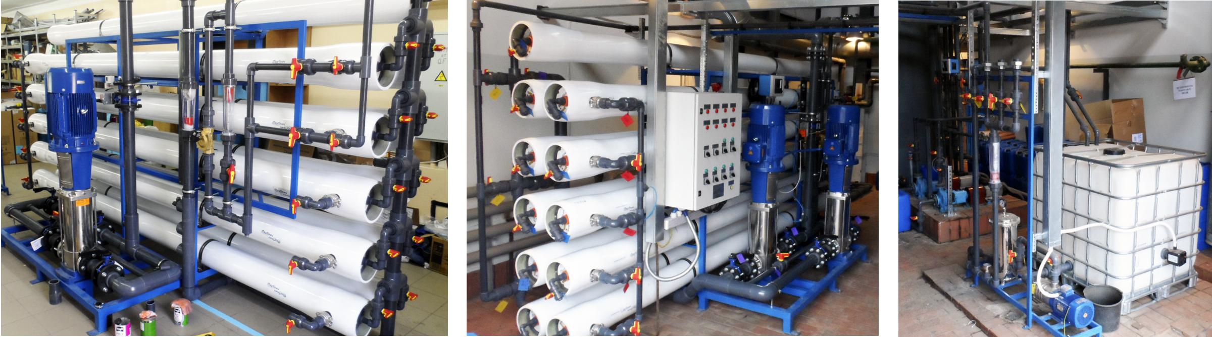 Сокращение потребления воды на установках обратного осмоса, продление срока службы мембран